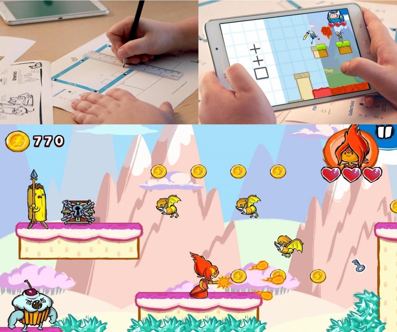 Con Adventure Time Game Wizard è possibile progettarsi il proprio videogioco! (foto e video)