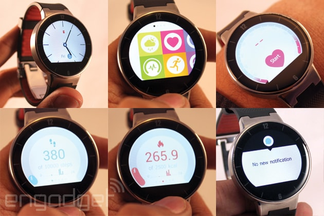Alcatel OneTouch Smartwatch - 1