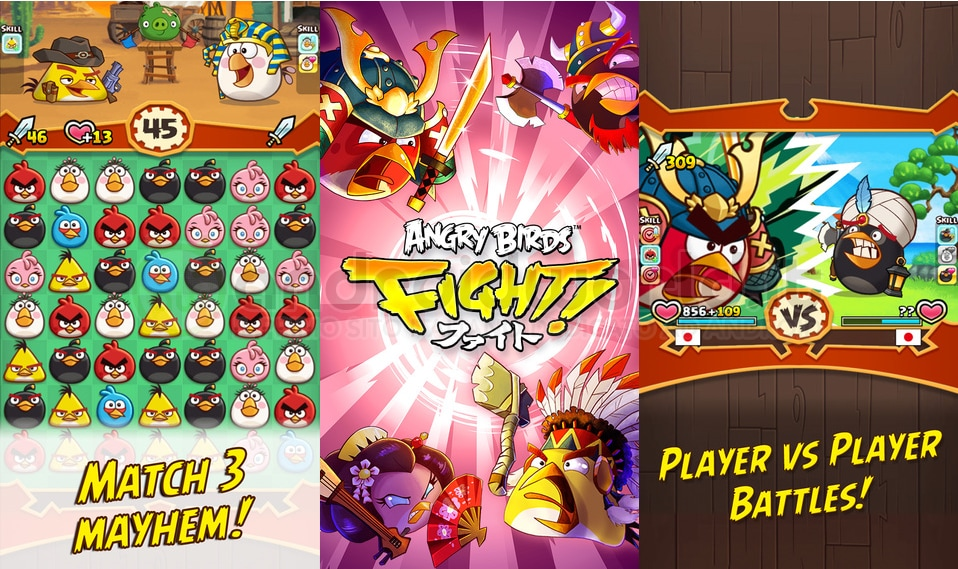 In arrivo due nuovi spin-off di Angry Birds: Angry Birds Fight e Angry Birds Stella POP!