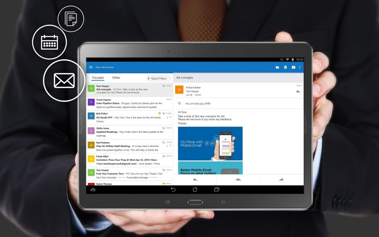 Anteprima Microsoft Outlook per Android - 14