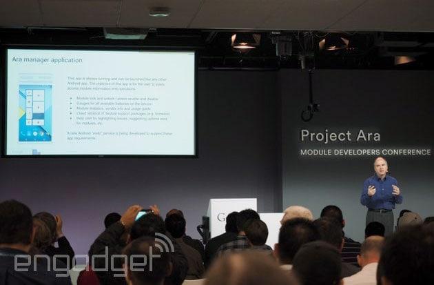 Ara Manager è l'applicazione che vi permetterà di gestire i moduli di Project Ara