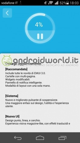 Ascend P7 update EMUI 3.0