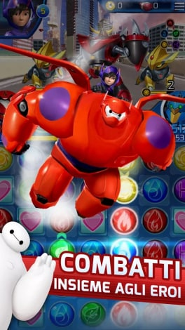 Big Hero 6 Robot Fight Android - 1
