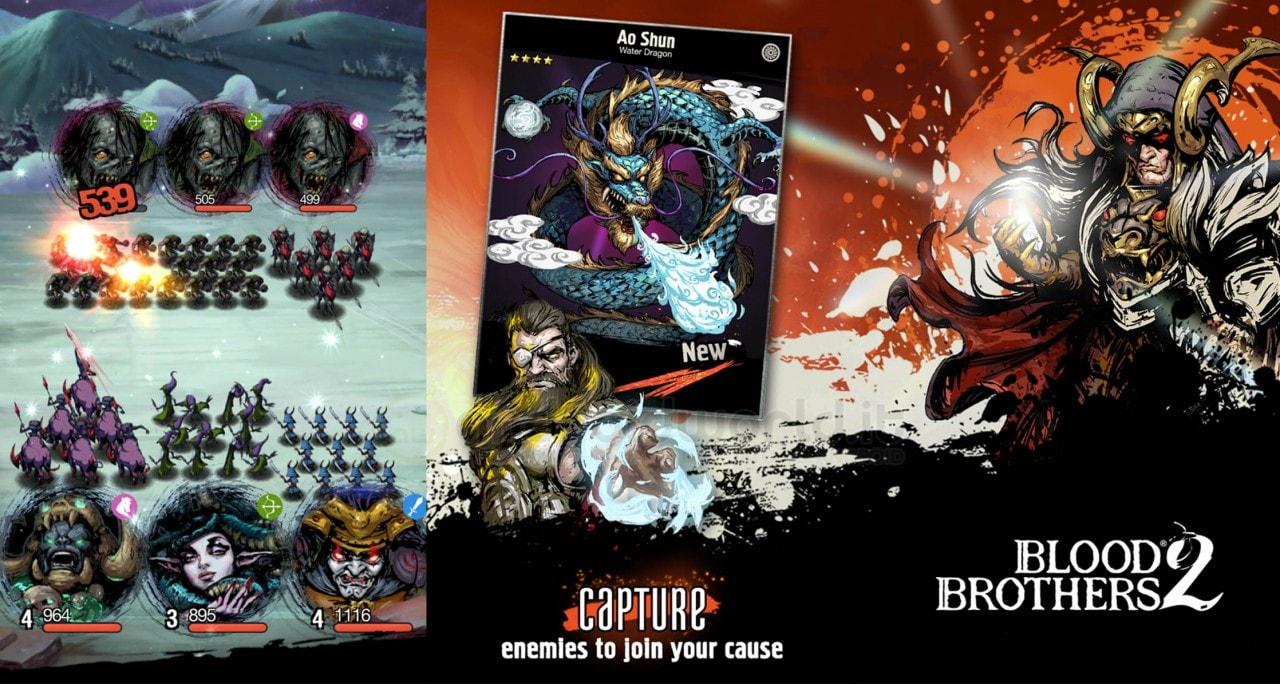 Blood Brothers 2: il seguito del celebre RPG strategico arriva su Android! (foto e video)