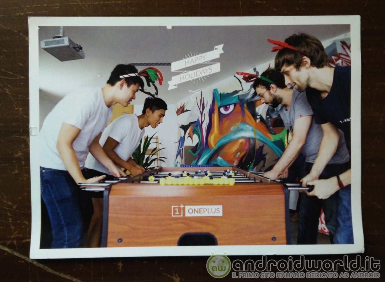 Cartoline OnePlus 01