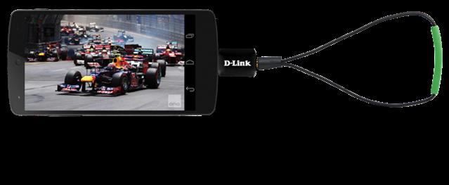 D-Link annuncia un sintonizzatore TV per smartphone e tablet ma funzionerà solo in Australia