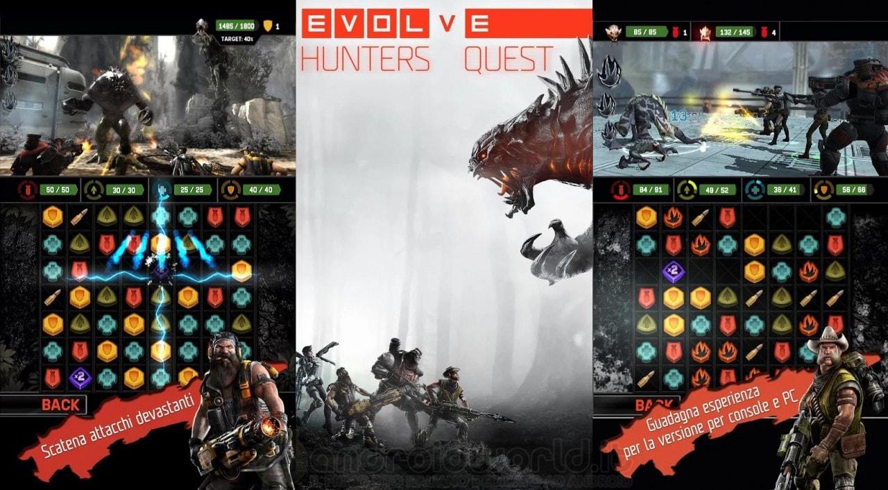 Evolve Hunter Quest è il nuovo, spettacolare e gratuito Puzzle RPG di Evolve (foto)