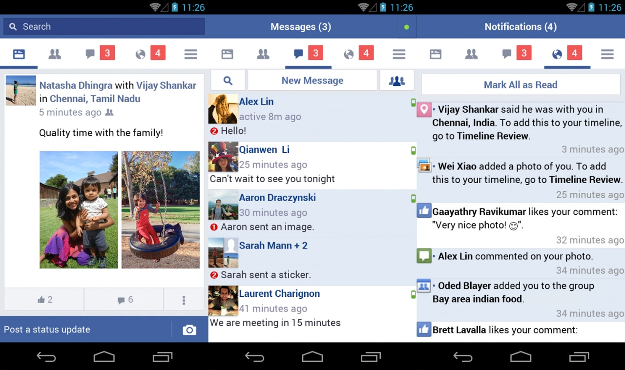 Facebook lancia Lite: una versione più leggera con Messenger integrato, ma non per l'Italia (download apk)