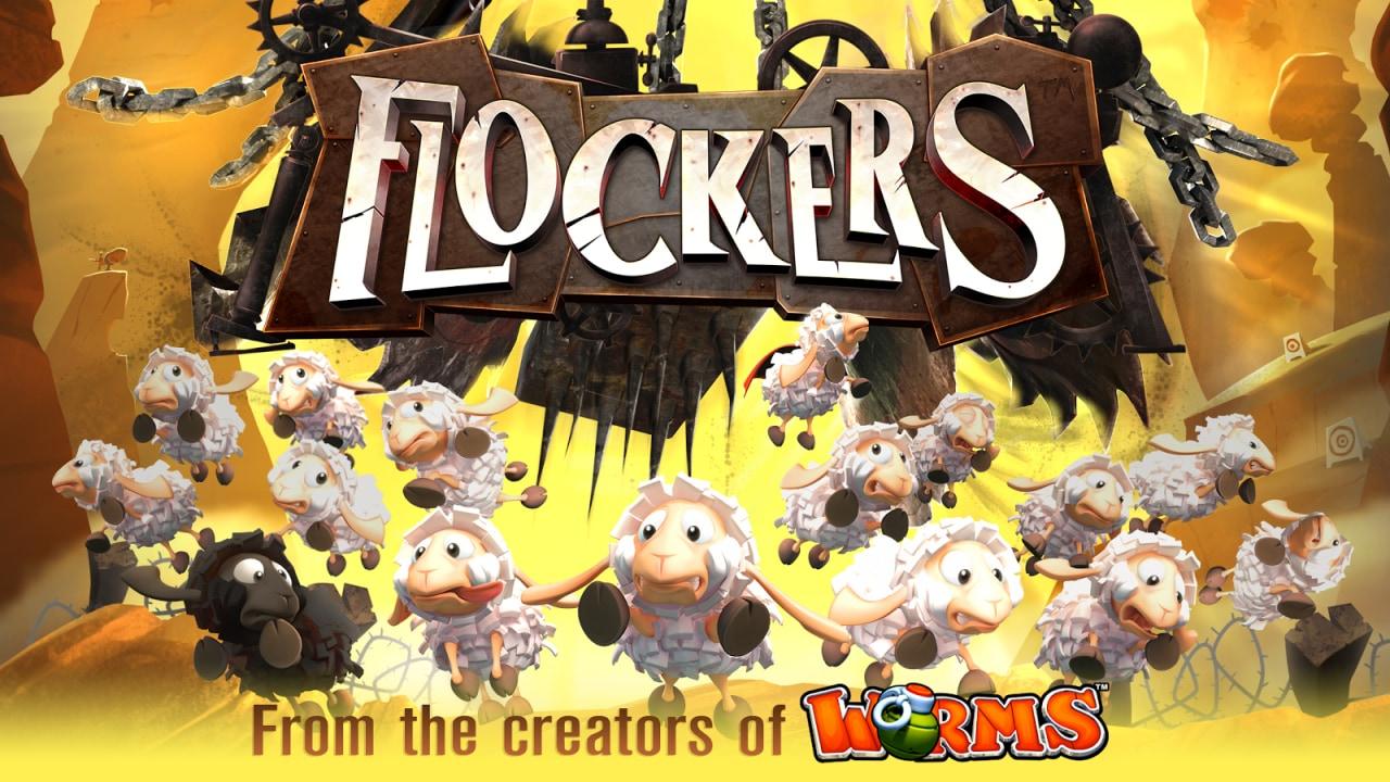 Dai creatori di Worms arriva Flockers, il simil-Lemmings con le pecore! (foto e video)