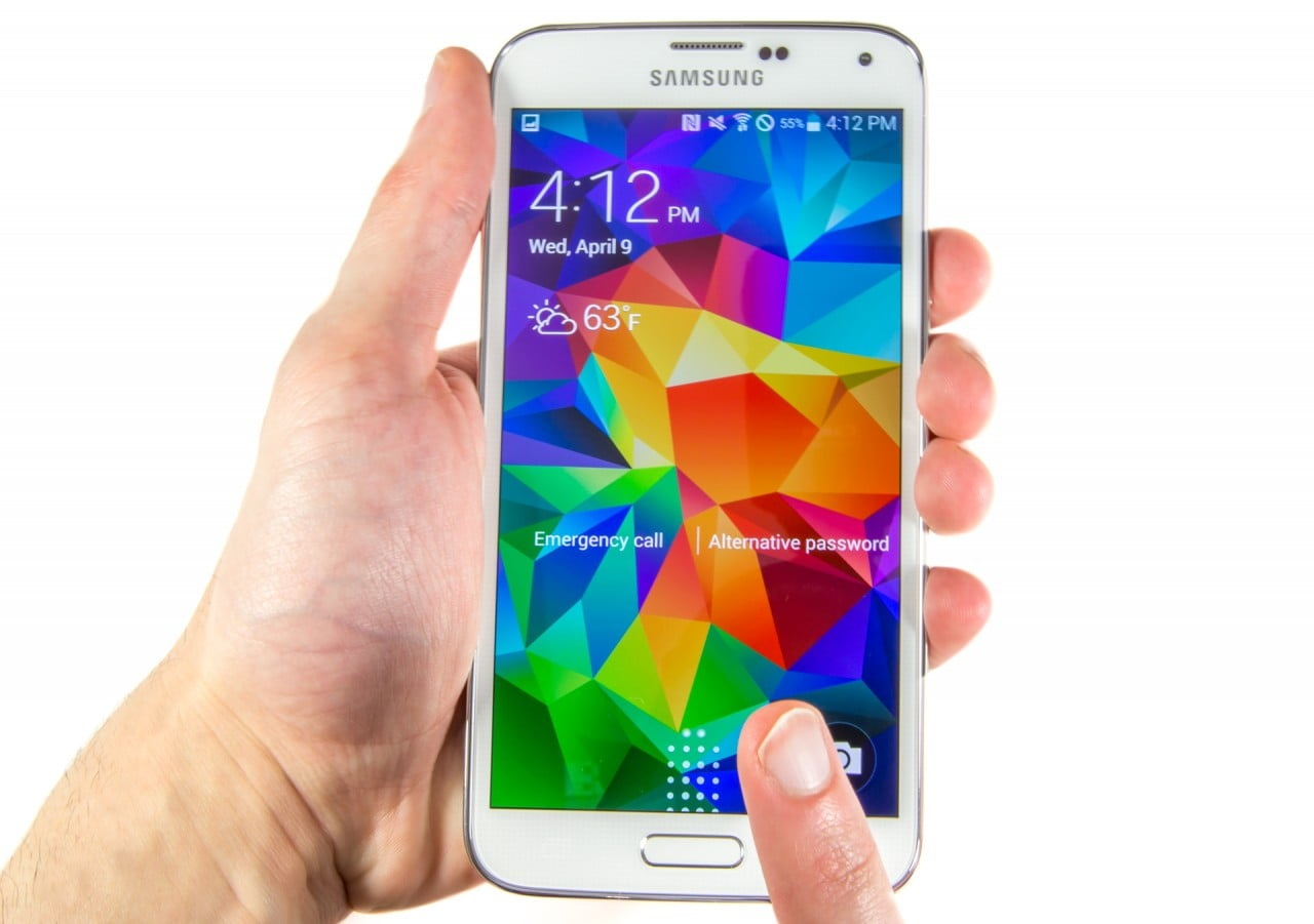Galaxy S5 impronte digitali