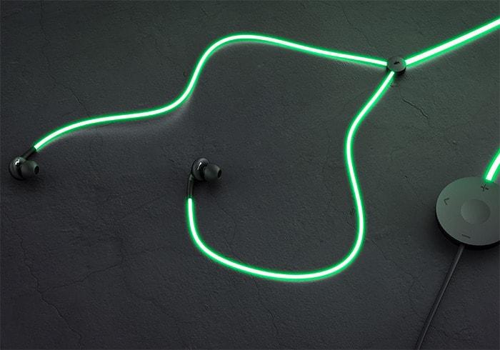 Glow: i primi auricolari smart con cavo-laser sono su Kickstarter e sono una figata! (foto e video)