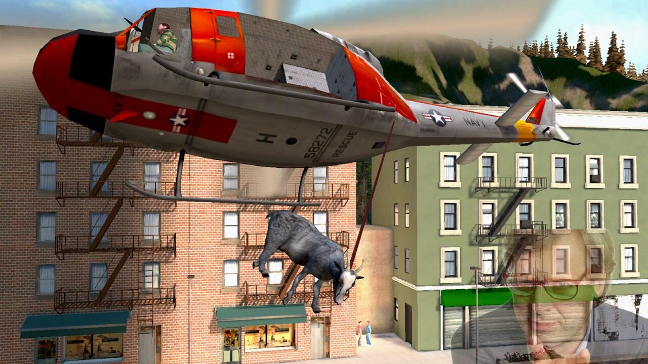 Goat Simulator: nuova mappa, nuove capre, elicotteri e sconto del 60%: che aspettate ad acquistarlo?