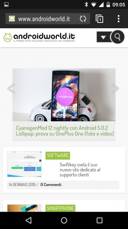 HTC Browser - 4
