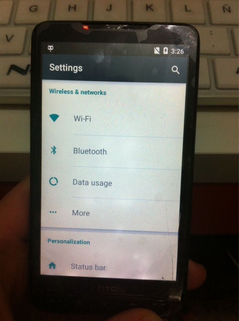 HTC HD2 porting Lollipop – 1