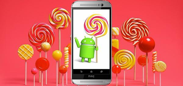 HTC One (M8) si aggiorna ad Android 5.0 Lollipop in Italia