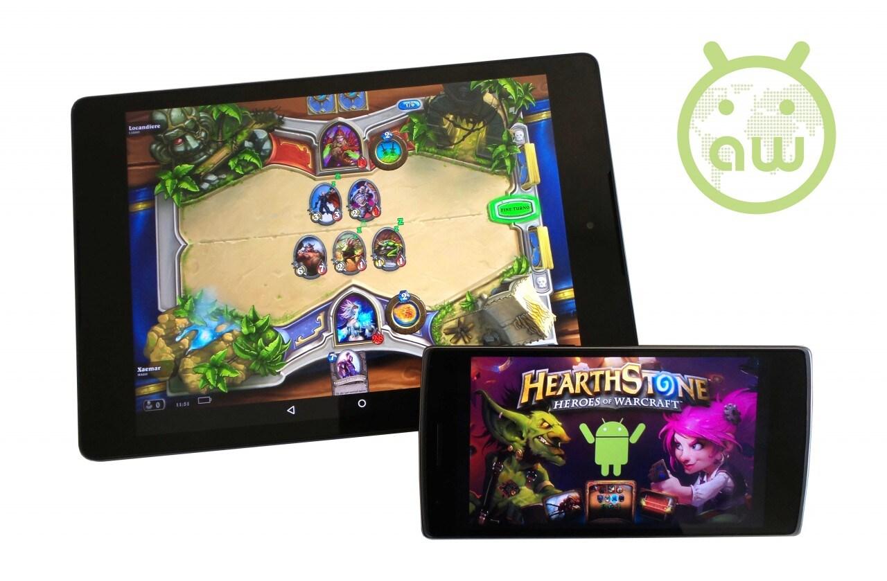 Hearthstone Heroes of Warcraft si aggiorna su Android, ecco tutte le novità!