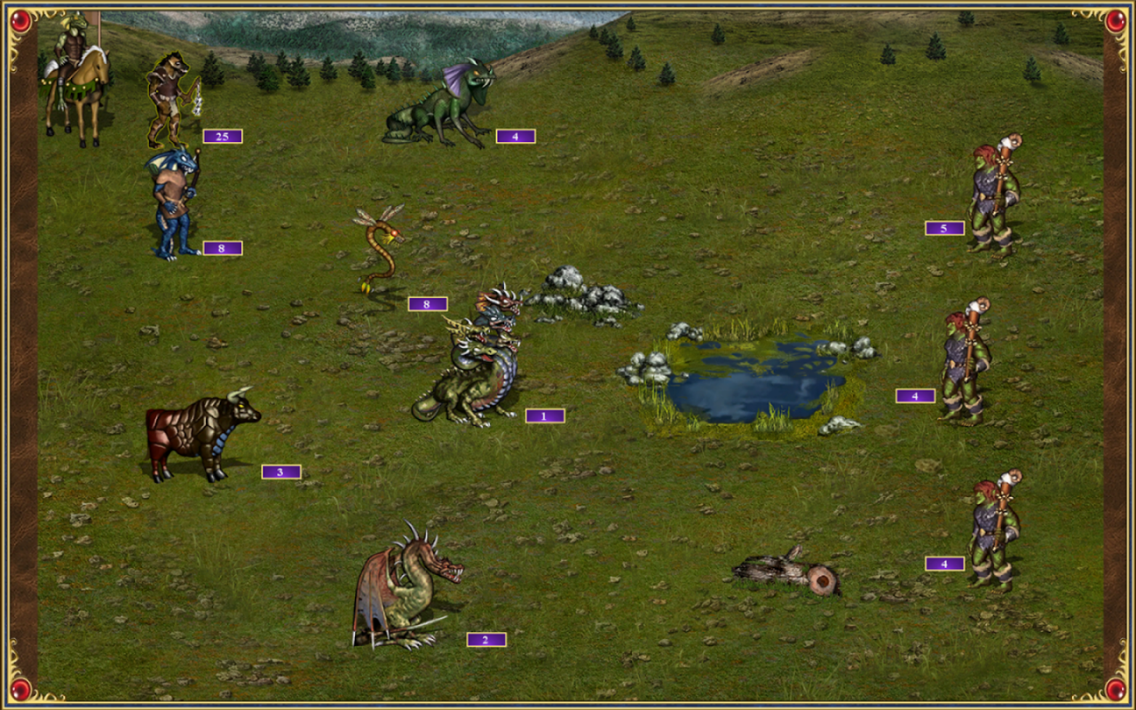 Heroes of Might & Magic III HD Android - 4