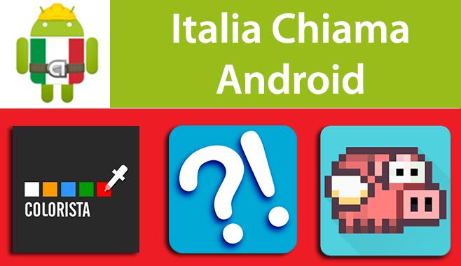 Italia Chiama Android: Colorista, InutilApp e Flying Pig