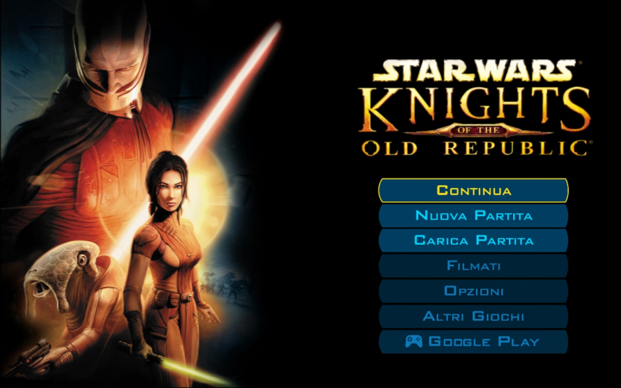 Knights of the Old Republic Android Recensione