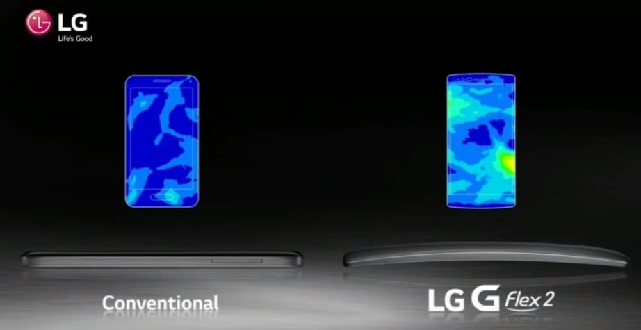 LG G Flex 2 comparativa
