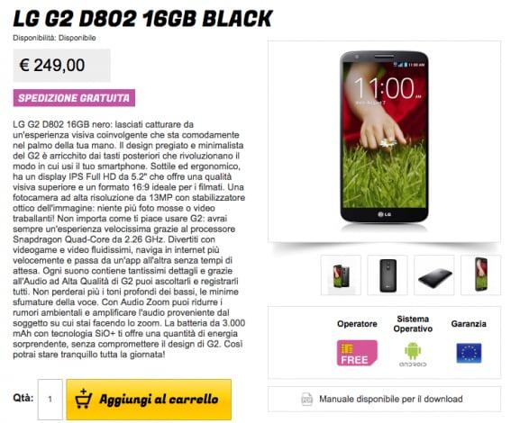 LG G2 stockisti