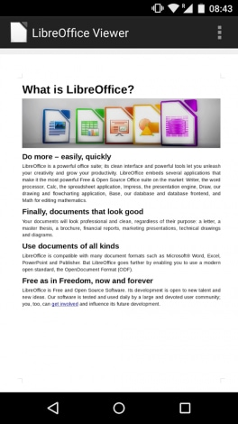 Libre Office Viewer - 1