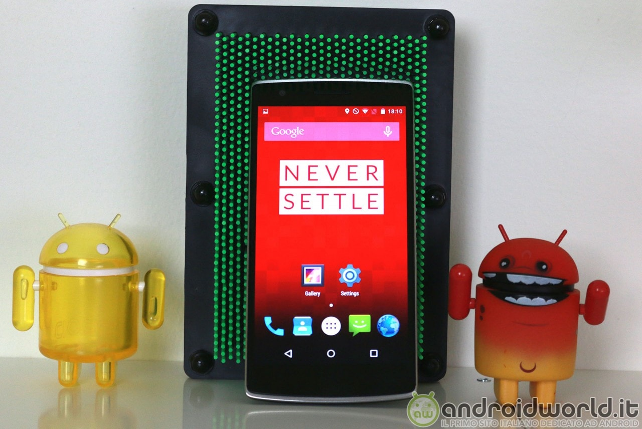 Lollipop alpha OnePlus One