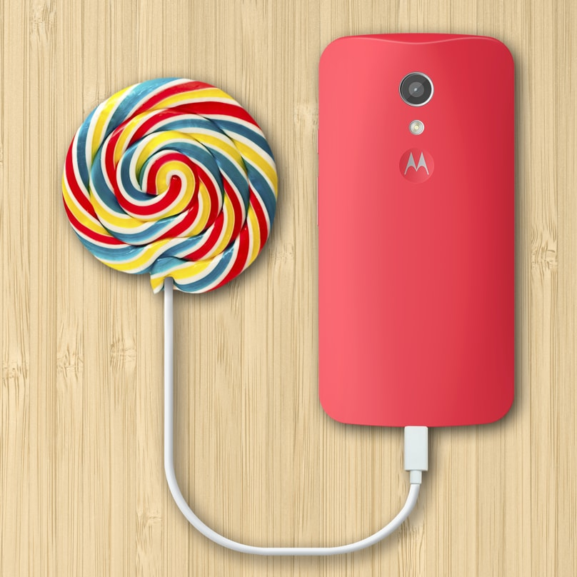 Lollipop moto g