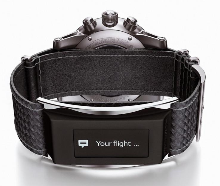 Montblanc trasforma un normale orologio in uno più smart (foto)