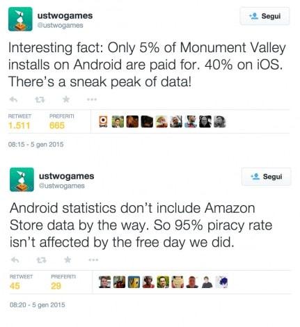 Monument Valley Tweet Pirata