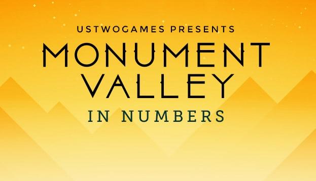 Tutti i numeri di Monument Valley in una lunga infografica