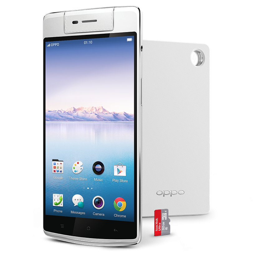 Oppo N3 disponibile in pre-ordine con caricabatterie VOOC e microSD inclusi