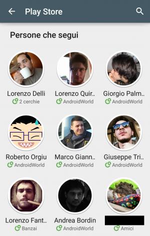 Persone su Google Play - 2