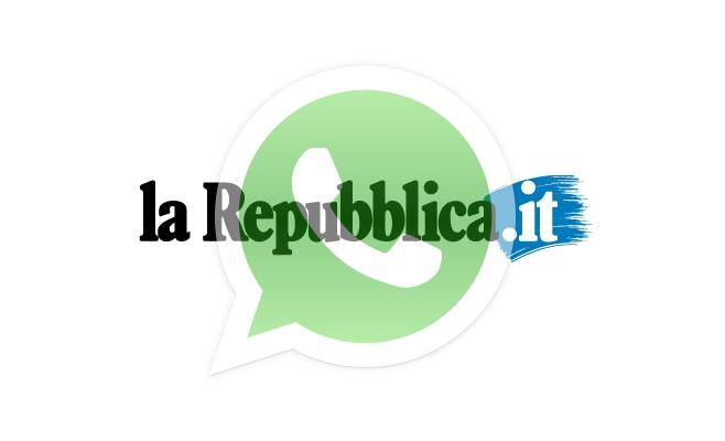 Le notizie di Repubblica gratis su questo account WhatsApp!