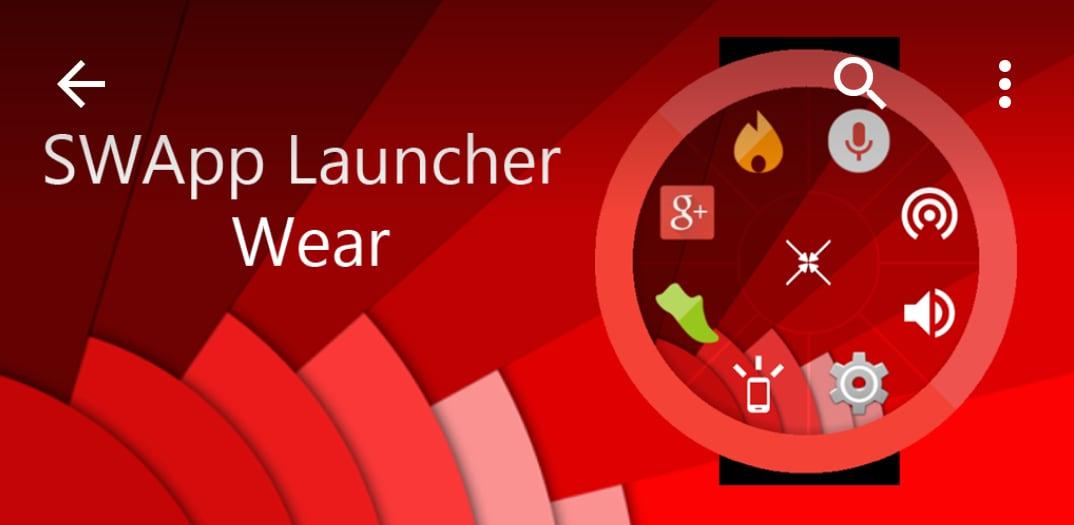 Un launcher circolare su Android Wear per le app e non solo: SWApp Launcher (foto)