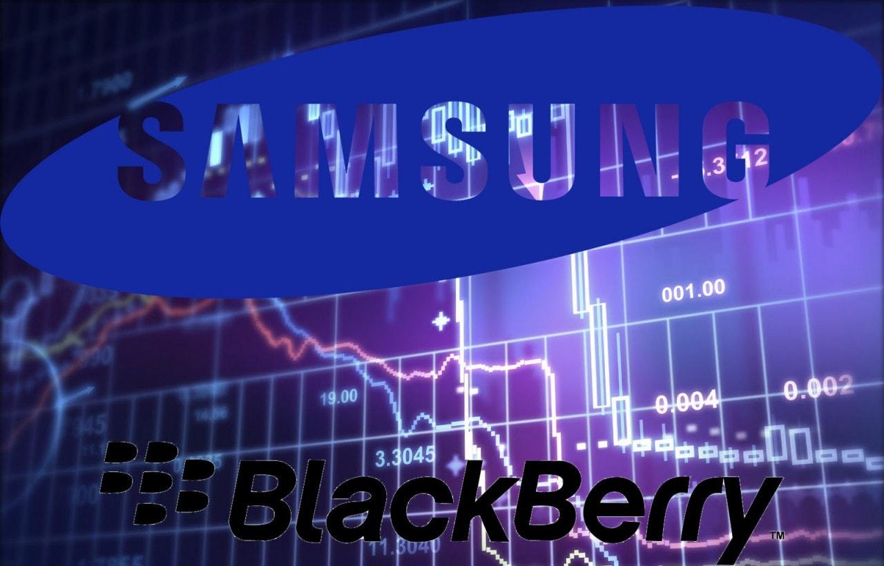 Samsung vorrebbe acquistare BlackBerry. BB nega. E la borsa va giù.