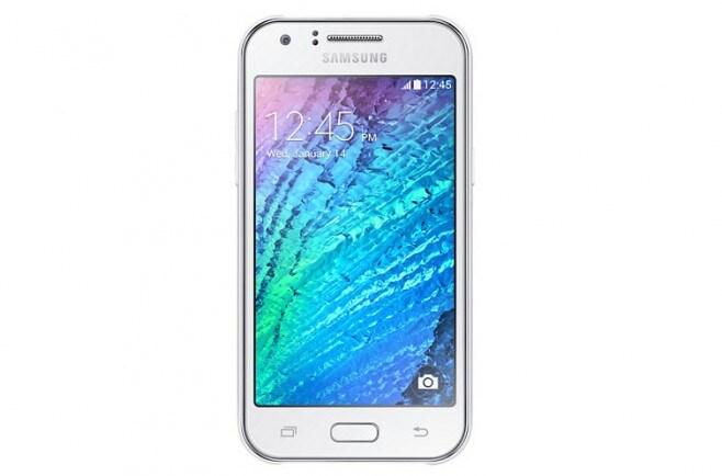 Samsung Galaxy J1 render ufficiale bianco - 1