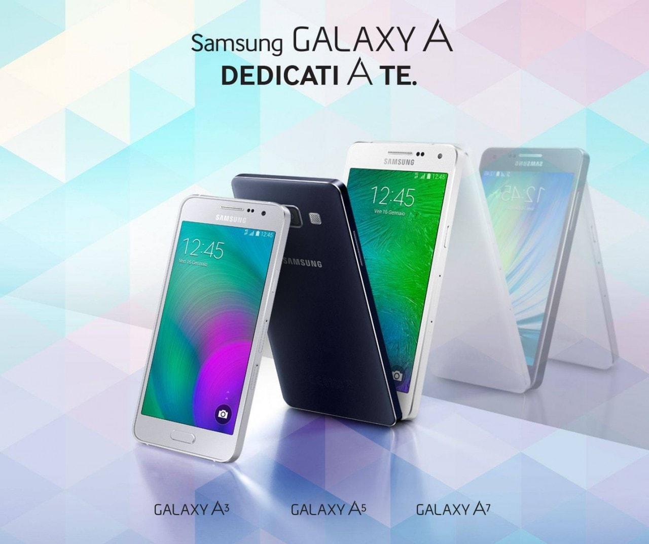 Serie Galaxy A completa final