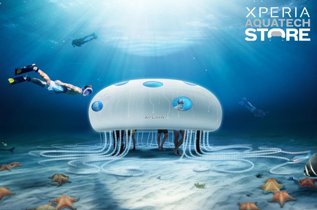 Sony store ci accompagna all'interno del suo negozio subacqueo (video)