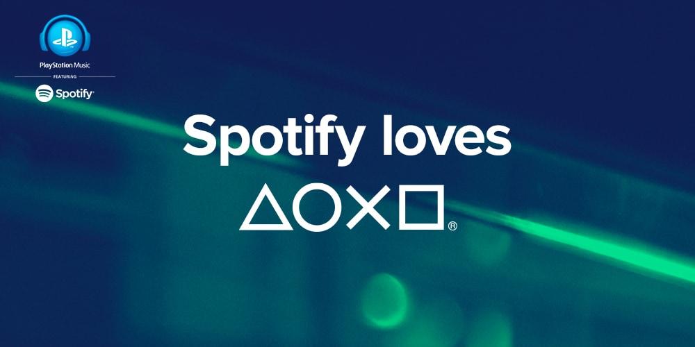 Sony PlayStation Music Spotify
