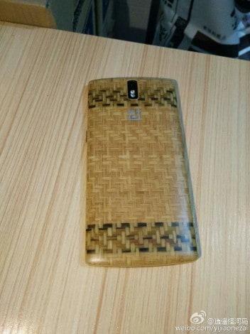 Style Swap Cover in legno lavorato per OnePlus One - 1