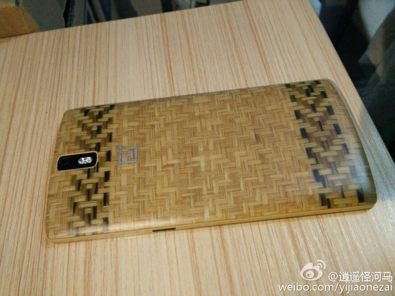 Style Swap Cover in legno lavorato per OnePlus One - 5