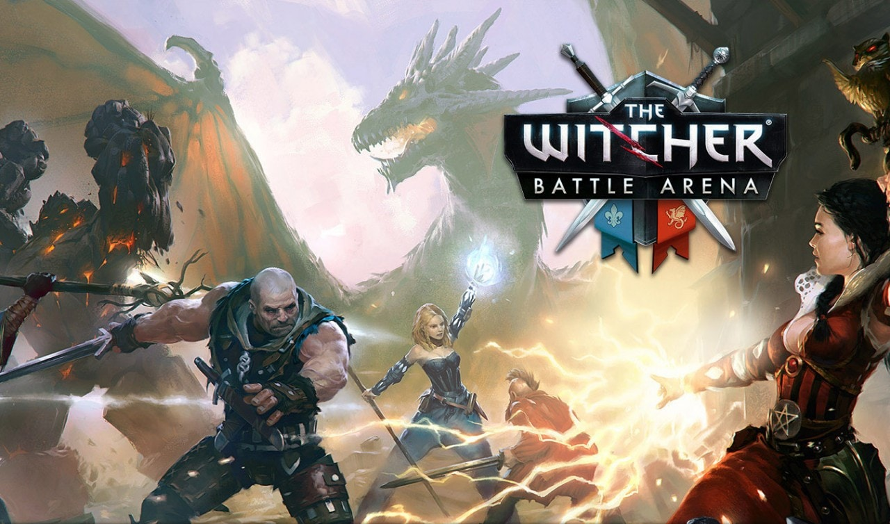 The Witcher Battle Arena Copertina Final