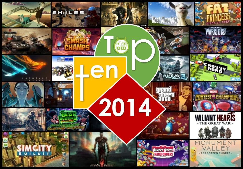 I dieci migliori giochi per Android del 2014 (video)