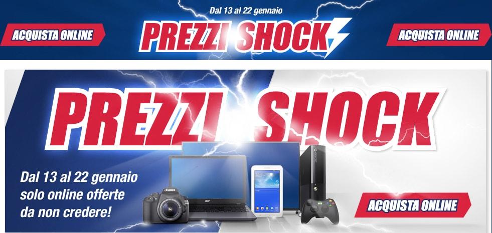 """Trony promette """"prezzi shock"""" online fino al 22 gennaio"""