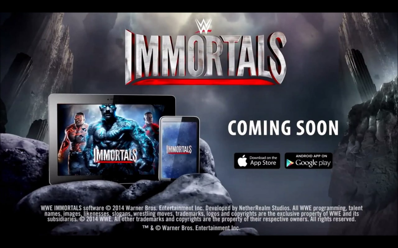 Un paio di filmati ci mostrano le potenzialità di WWE Immortals (video)