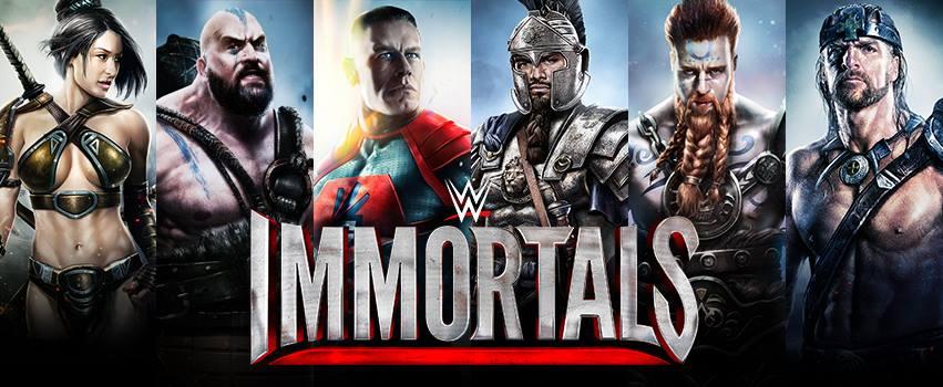 I wrestler diventano supereroi in WWE Immortals: dal 15 gennaio su Android