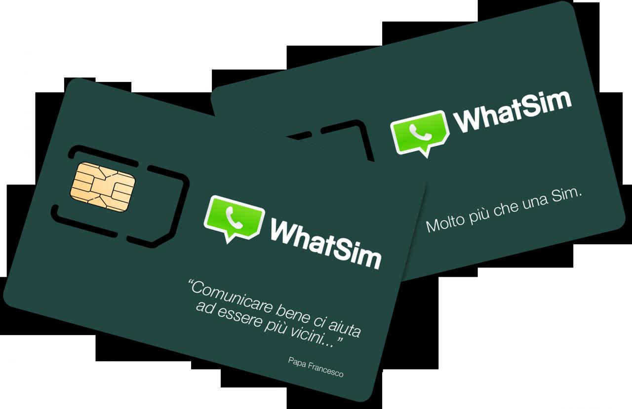 Arriva in Italia WhatSim: la prima SIM per chattare gratis con WhatsApp, sempre dovunque