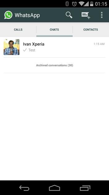 WhatsApp chiamate vocali – 2