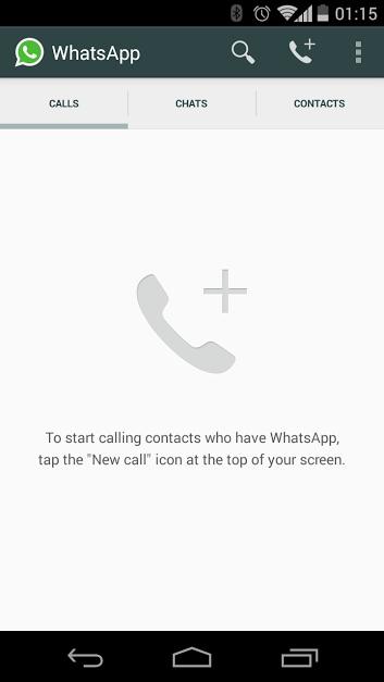 WhatsApp chiamate vocali – 3